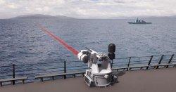 Американские корабли оснастят лазерными пулемётами